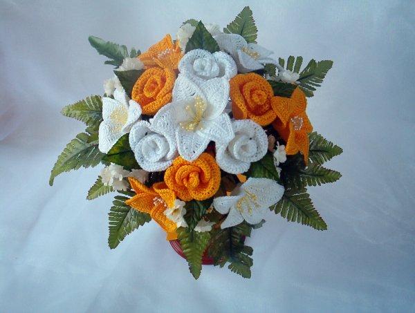 Bouquet Sposa Uncinetto Tutorial.Nuova Pagina 1